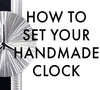 How to Set Your Clock