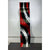 One of a Kind Red, Black & Silver Metal Wall Art Wave - 2021-5