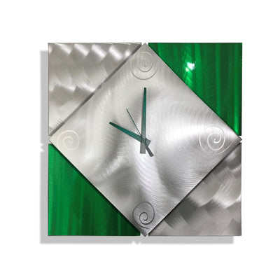 New Day Clock - Green