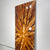 "Gorgeous Earthtone Abstract Painting, Only One! 39.5"" x 16"" - Adore"