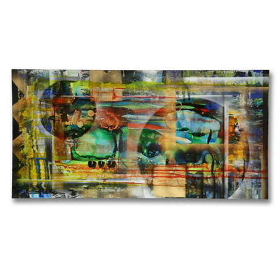"Only One! Colorful, Abstract Original Painting""The Weight"" by Jon Allen"