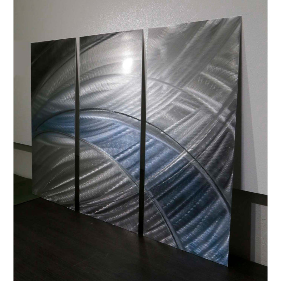 One of a Kind 3 Piece Metal Wall Art - A53