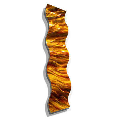 Amber Vortex Wave