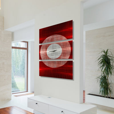 Crimson Moon Clock