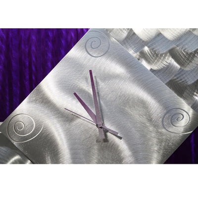 New Day Clock - Purple