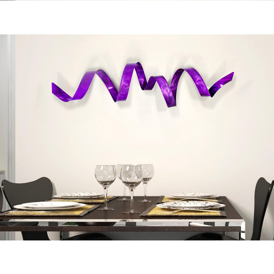 Purple Wall Twist
