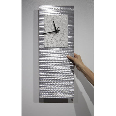 Radiance Blanco Clock