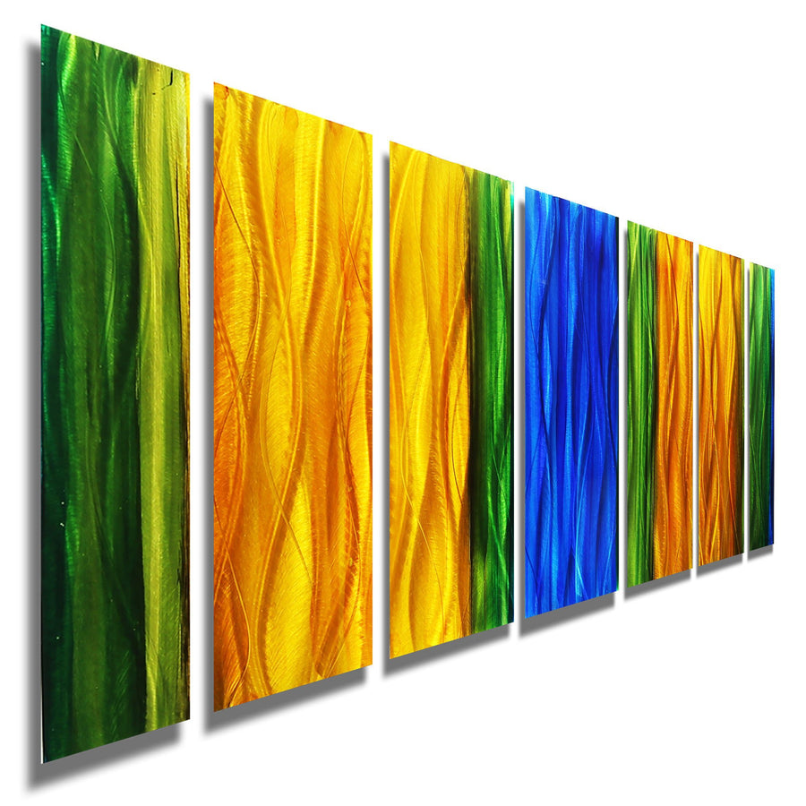 Hand-Painted Metal Wall Art Panels by Jon Allen | Statements 2000 ...