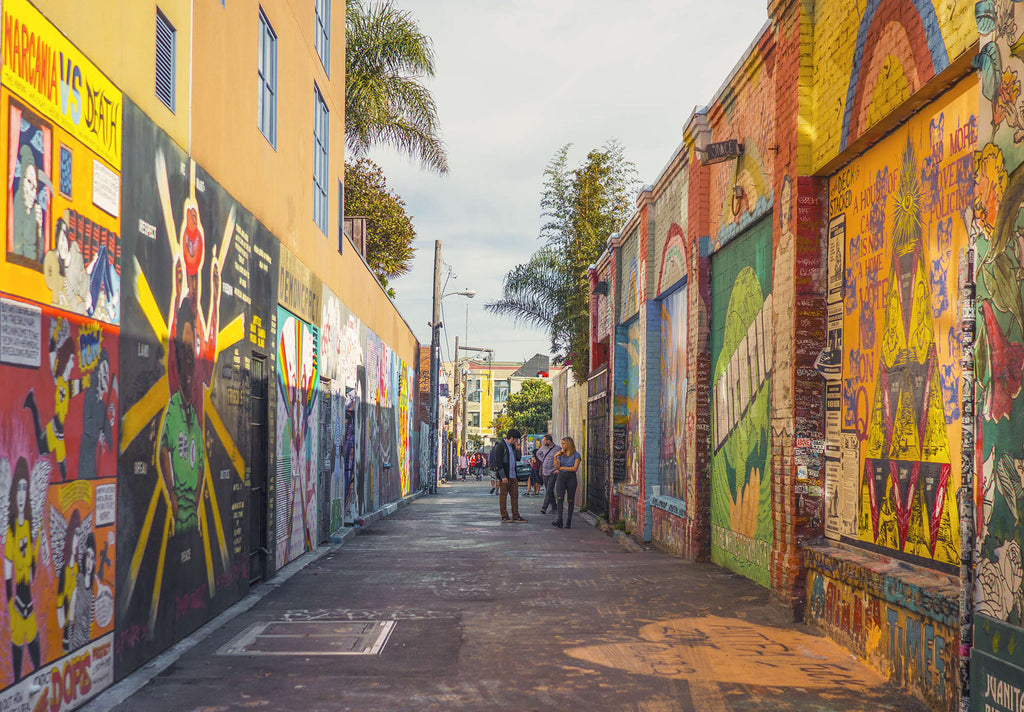 Clarion Alley: San Francisco's street art meca