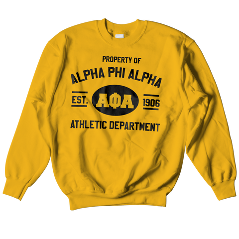 Alpha Phi Alpha Athletic Crewneck Sweatshirt