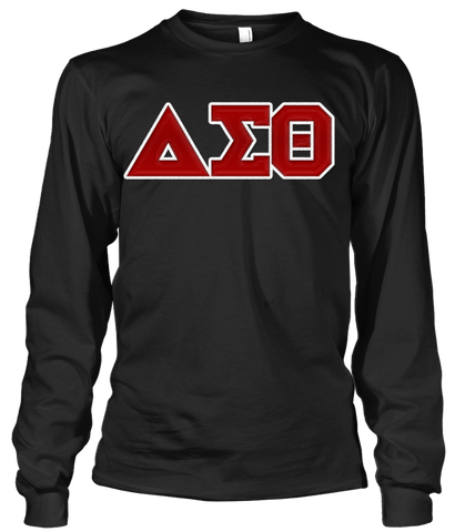 Delta Sigma Theta Greek Letter Long Sleeve