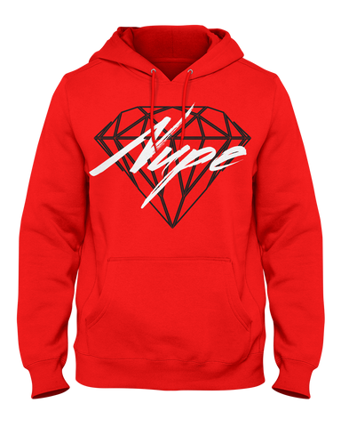 Kappa Alpha Psi Nupe Diamond Hoodie - Letters Greek Apparel - Black Greek Paraphernalia
