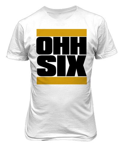 Alpha Phi Alpha OHH Six T-Shirt - Letters Greek Apparel - Black Greek Paraphernalia