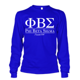 Phi Beta Sigma Collegiate Long Sleeve