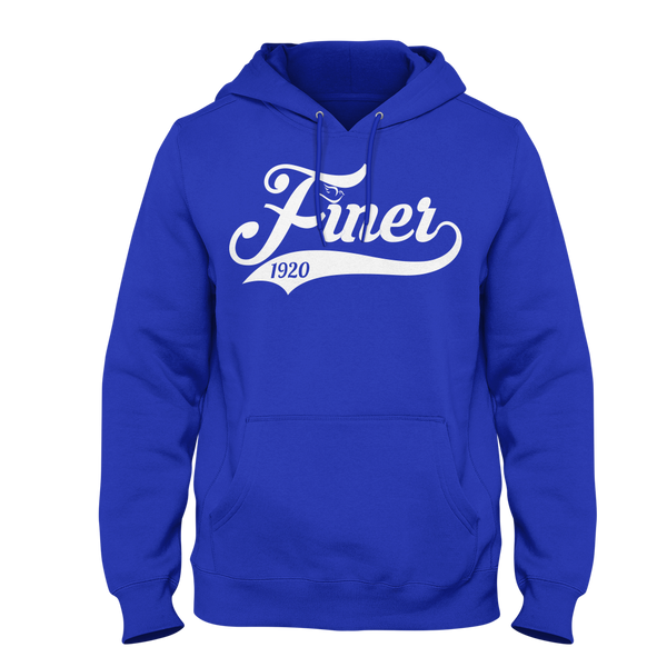 Zeta Phi Beta Finer Script Hoodie - Letters Greek Apparel - Black Greek Paraphernalia