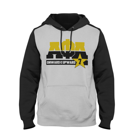 Alpha Phi Alpha Dream Team Hoodie - Letters Greek Apparel - Black Greek Paraphernalia