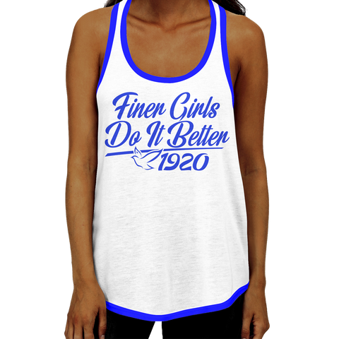 Zeta Phi Beta - Do It Better Racerback Tank Top