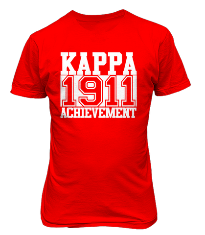 kappa alpha psi Chant Tee - Letters Greek Apparel - Black Greek Paraphernalia