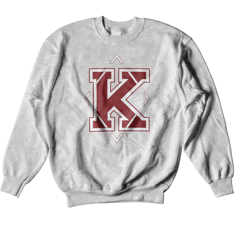 Kappa Alpha Psi University Crewneck Sweatshirt - Letters Greek Apparel - Black Greek Paraphernalia