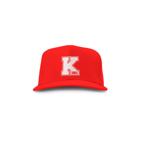 Kappa Alpha Psi Varsity Snap Back - Letters Greek Apparel - Black Greek Paraphernalia