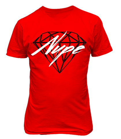 Kappa Alpha Psi Nupe Diamond - Red - Letters Greek Apparel - Black Greek Paraphernalia