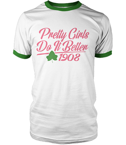 Alpha Kappa Alpha Do It Better Ringer T-Shirt