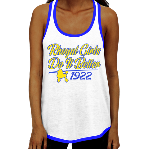Sigma Gamma Rho - Do It Better Racerback Tank Top