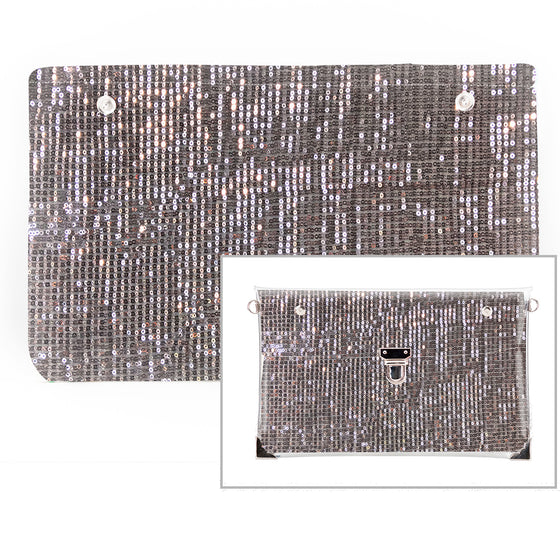 Diamonds - Fabric Insert (Clutch)
