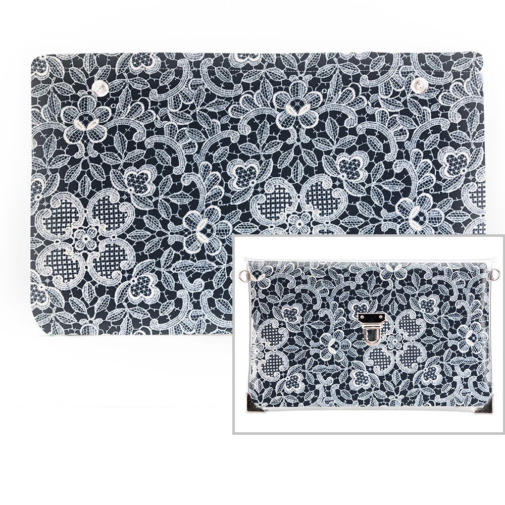 Mykonos - Fabric Insert (Clutch)