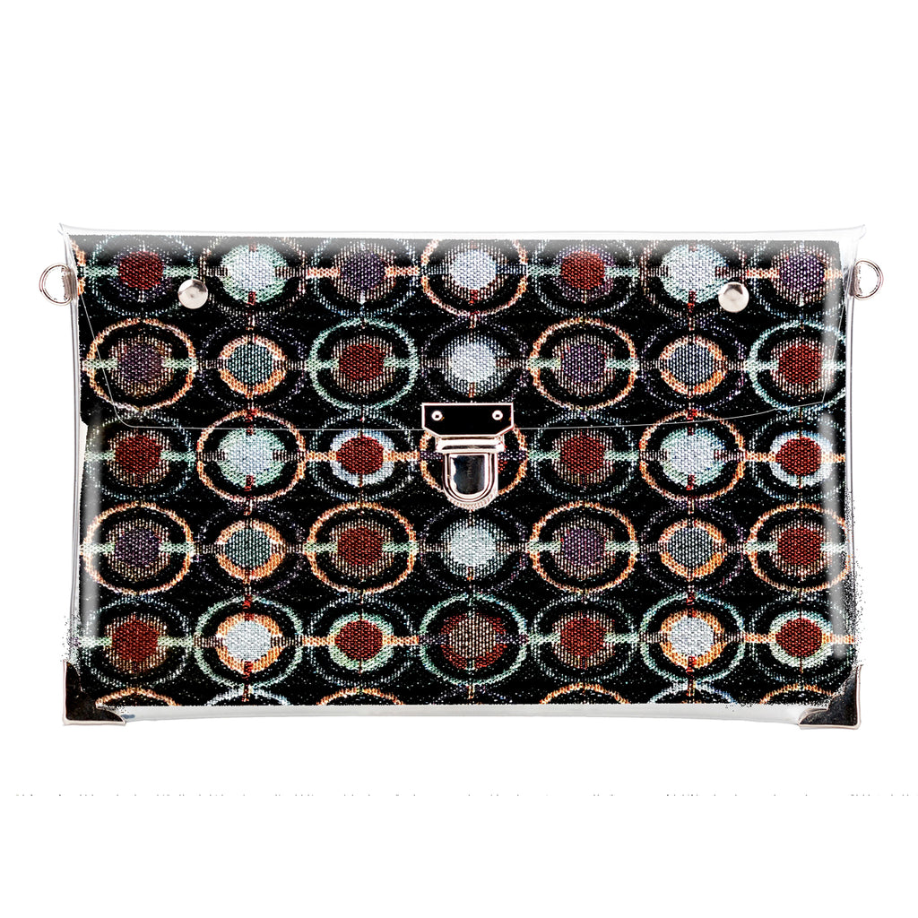 1 x Clutch + 2 x Extra Fabric Insert (Holiday Red + Urban + Night Glow)