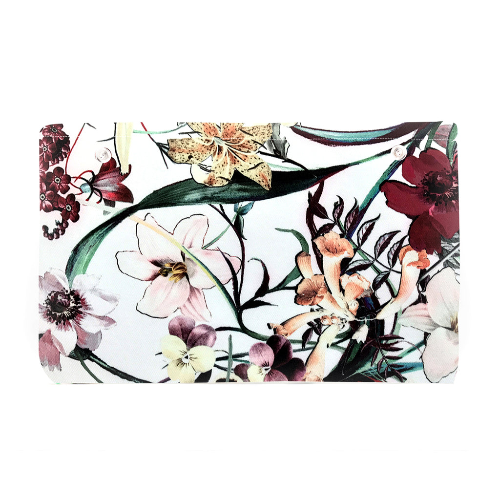 Garden Flowers - Fabric Insert (Clutch)