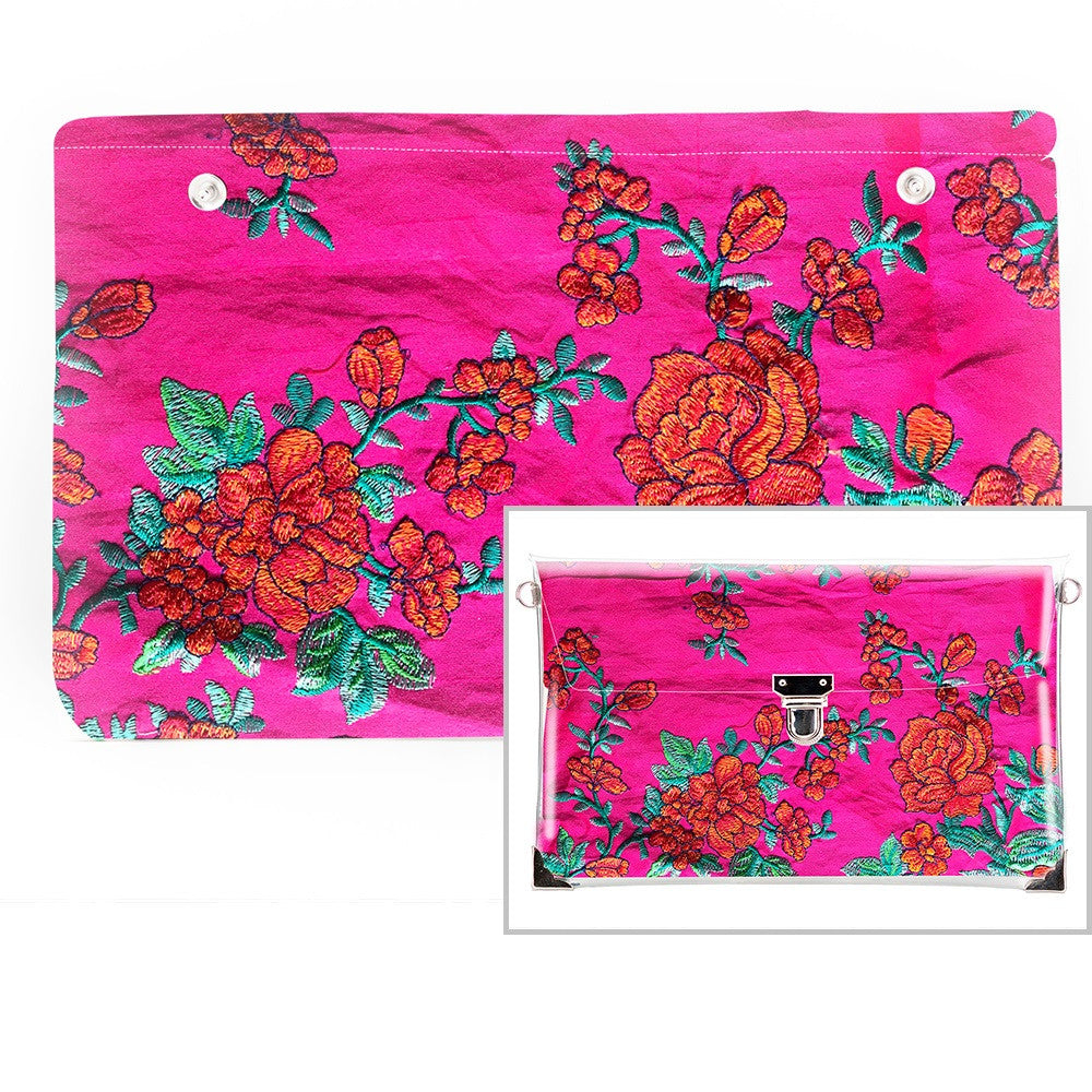Foxy - Fabric Insert (Clutch)