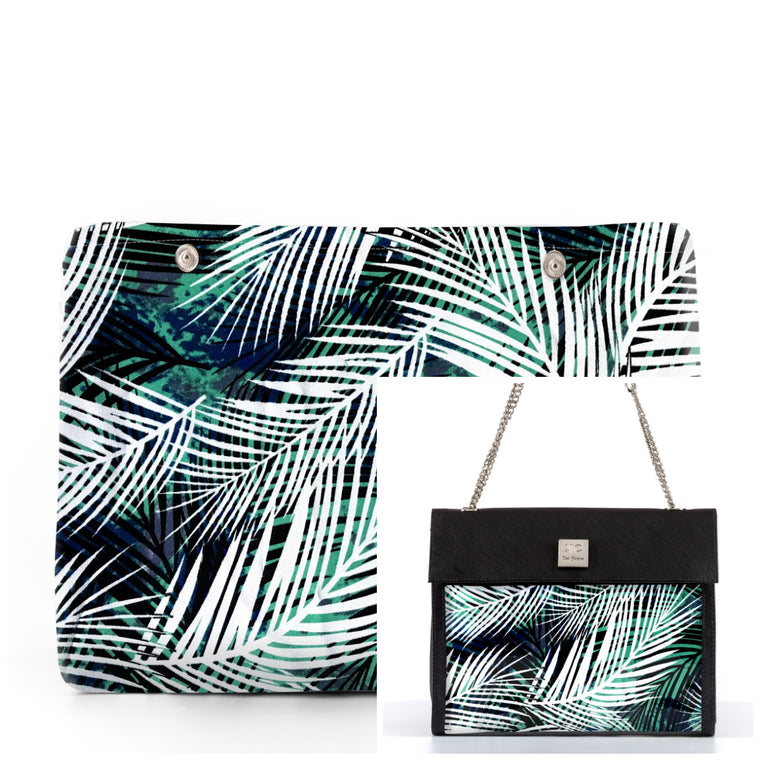 Jungle - Fabric Insert (Shoulder Bag)