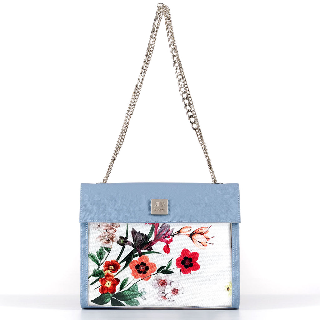 Holiday Red - Shoulder Bag - Light Blue