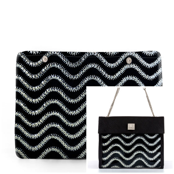 Wave - Fabric Insert (Shoulder Bag)