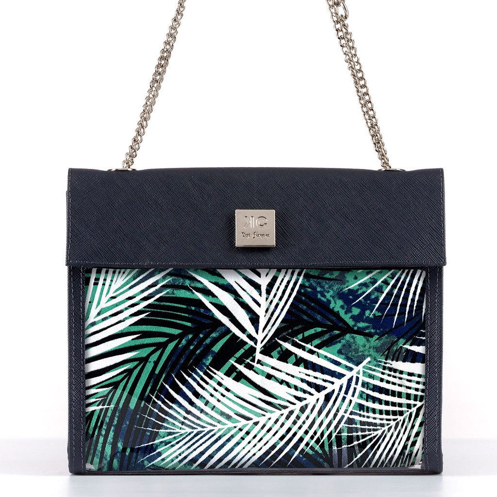 Jungle - Shoulder Bag - Dark Blue
