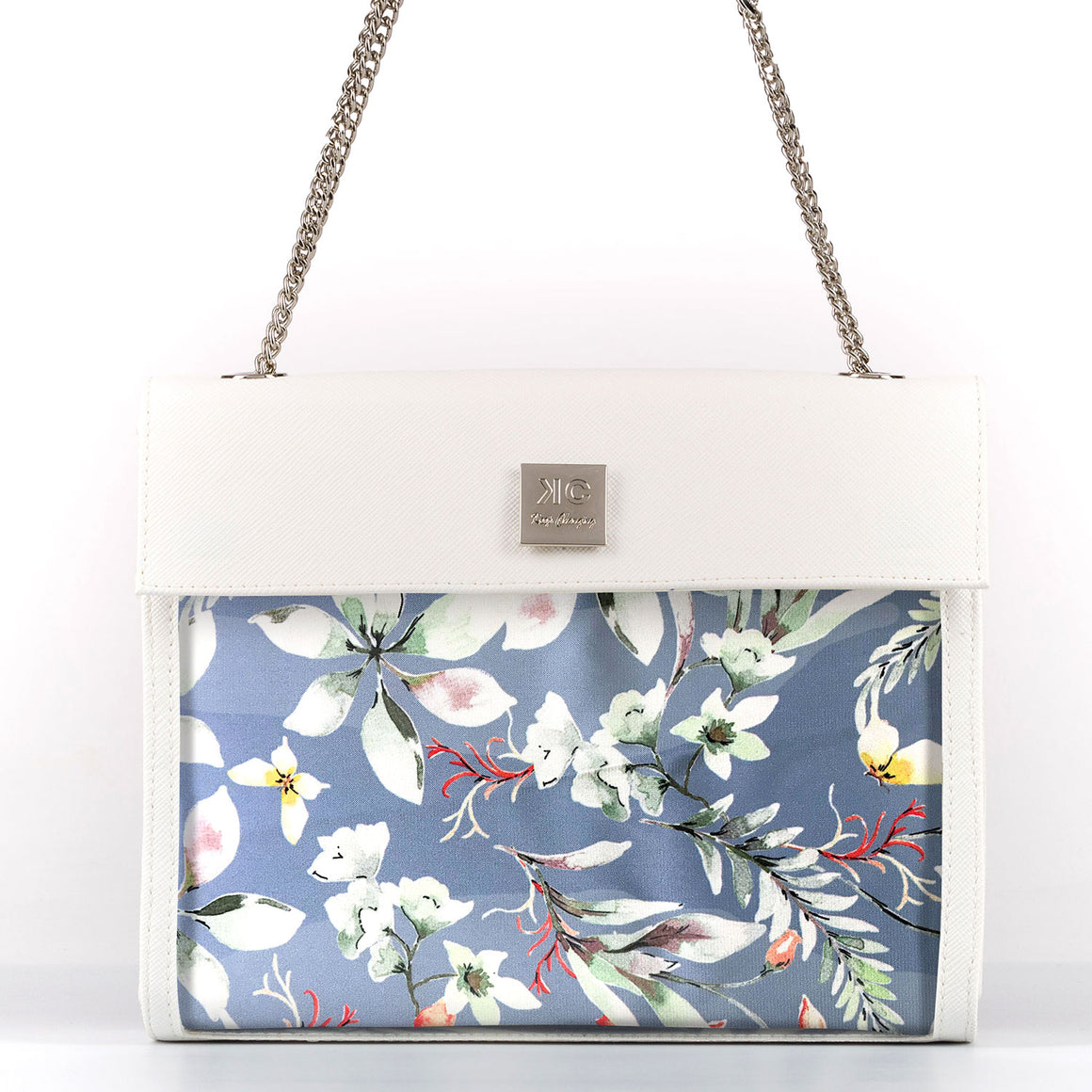 Waterfall - Shoulder Bag - White