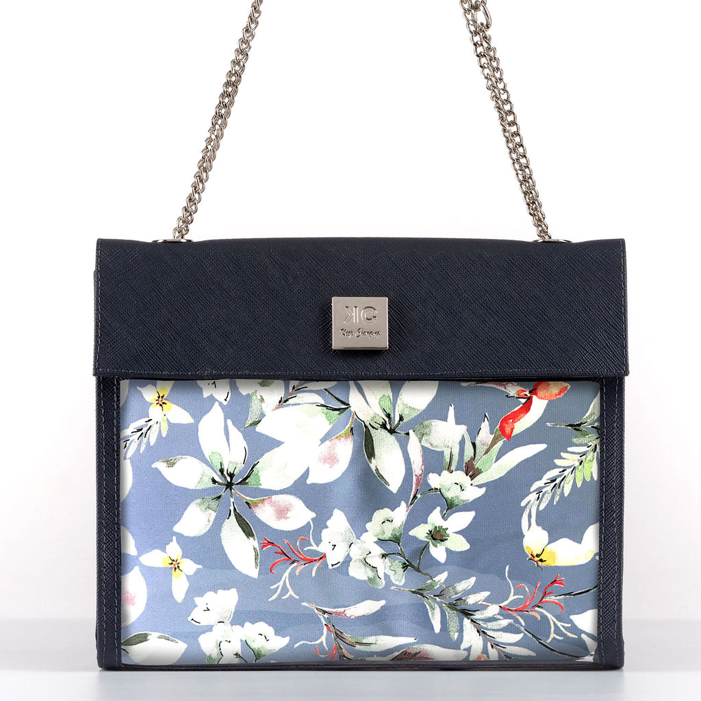 Waterfall - Shoulder Bag - Dark Blue