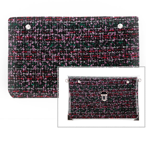 Runway - Fabric Insert (Clutch)