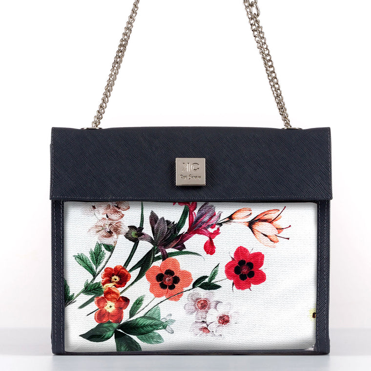 Holiday Red - Shoulder Bag - Dark Blue