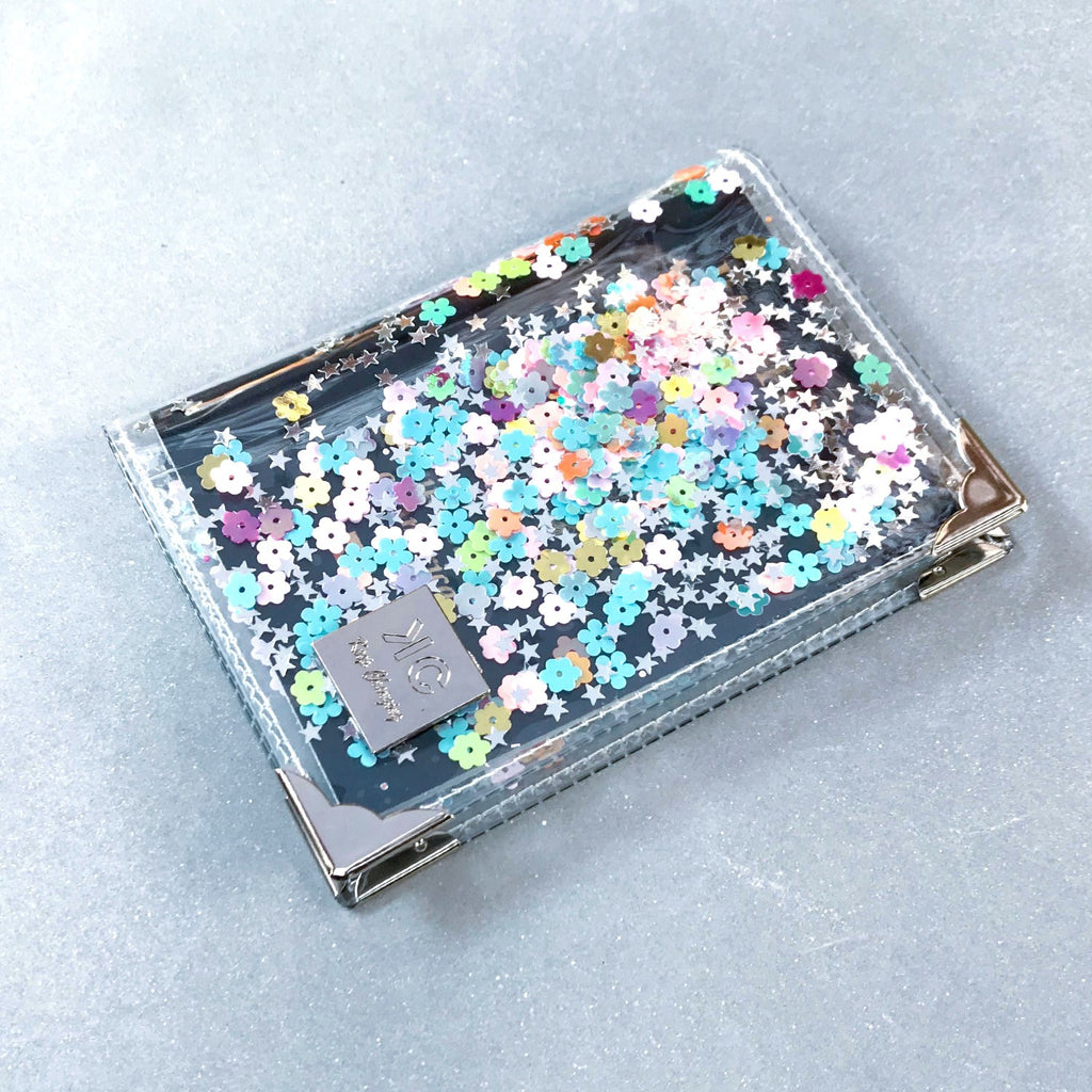 Sequins Passport Cover - Rainbow