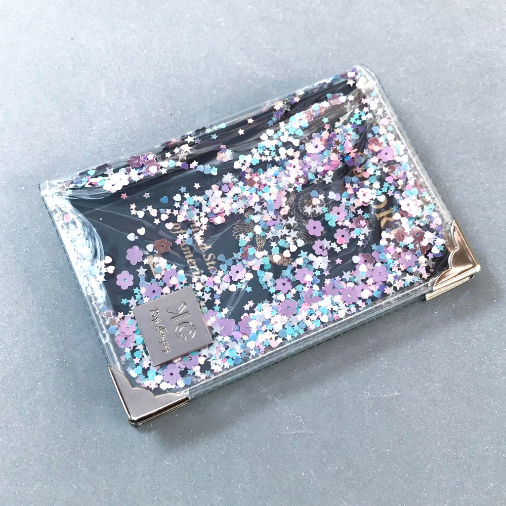 Sequins Passport Cover - Party