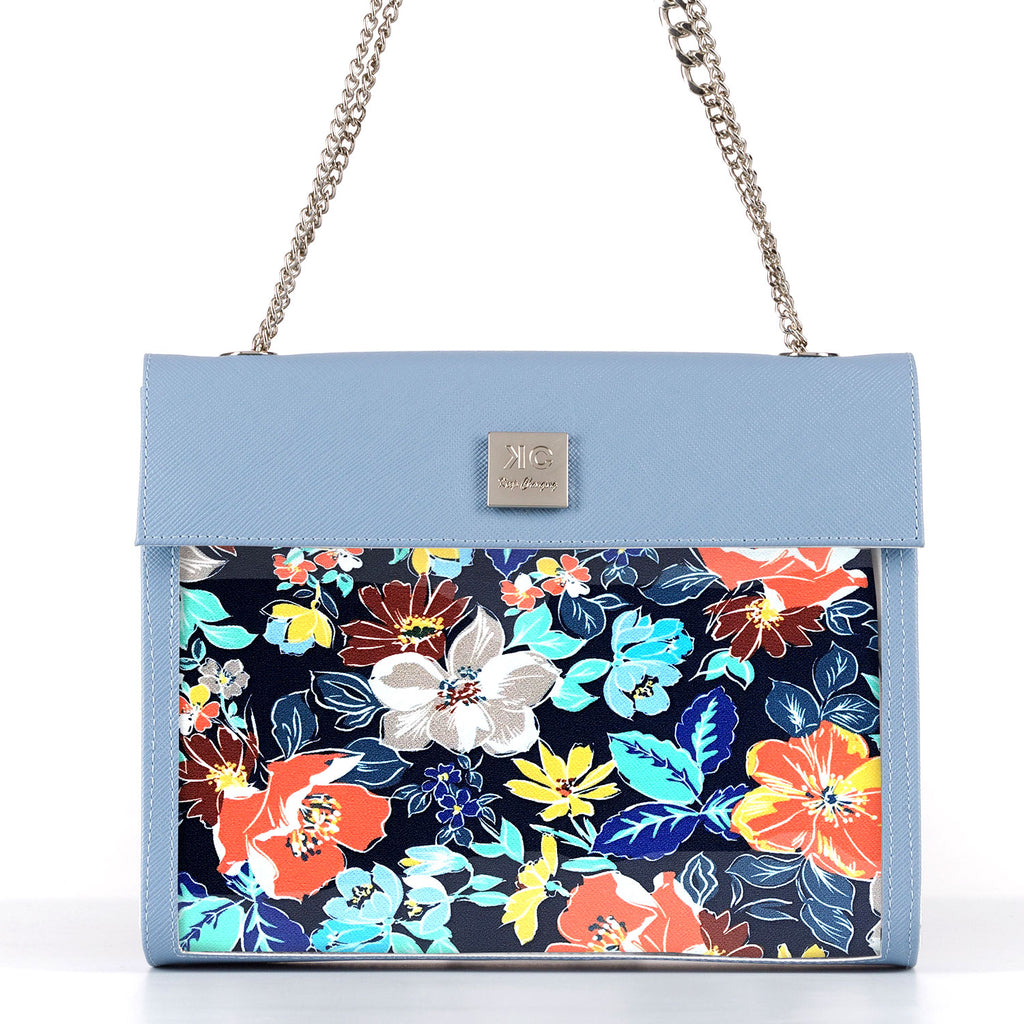 Sunday Blue - Fabric Insert (Shoulder Bag)