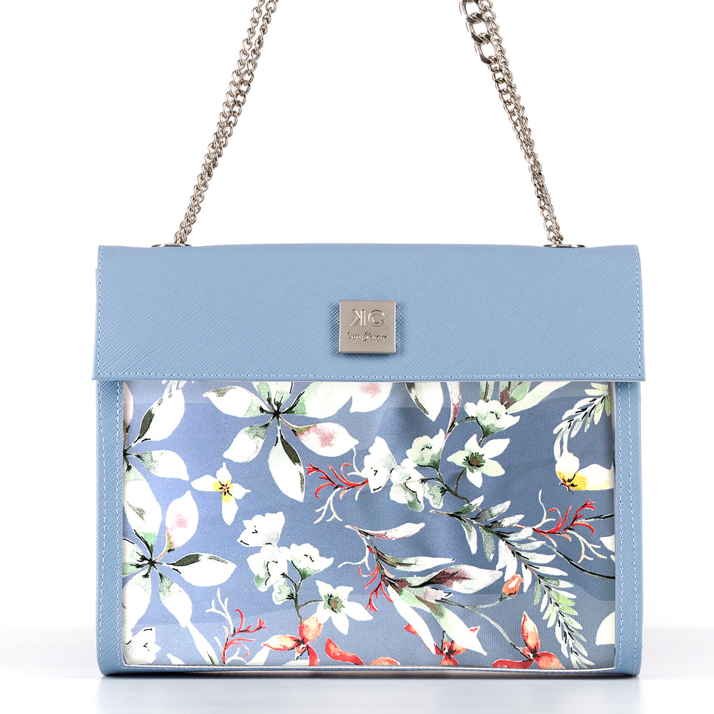 Waterfall - Shoulder Bag - Light Blue