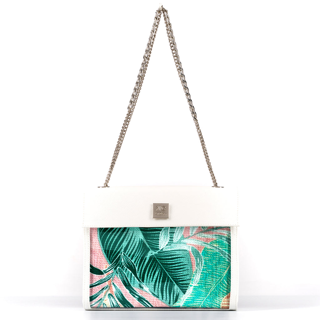 Tropical - Fabric Insert (Shoulder Bag)