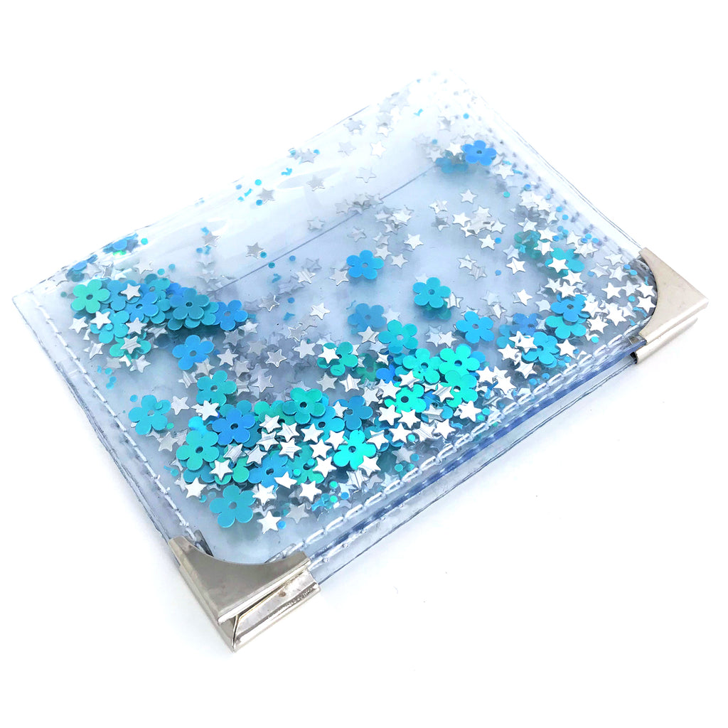 Mini Card Holder - Aquamarine