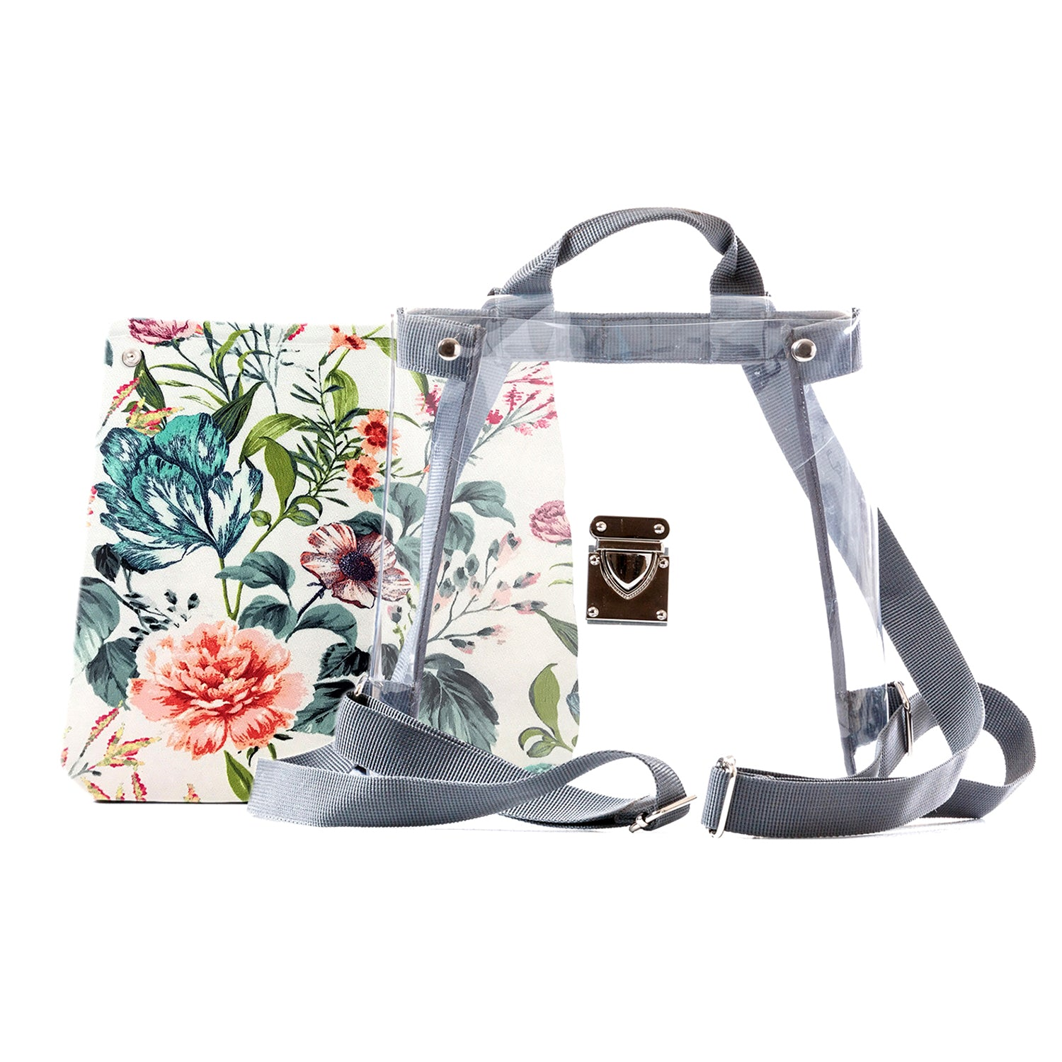 ecbd512894f7 Floral Mini Backpack Purse for Women