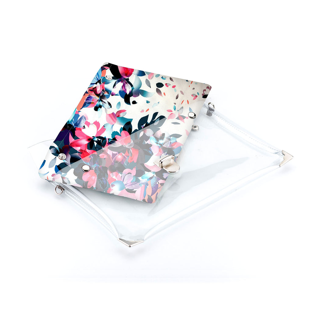 1 x Clutch + 2 x Extra Fabric Insert (Nicole + Flowers + Girls Stuff)