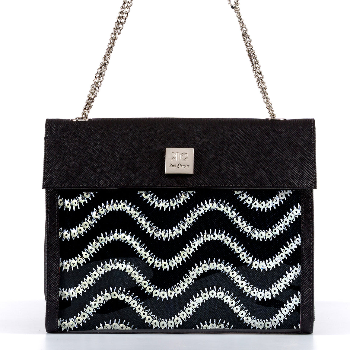Wave - Shoulder Bag - Black