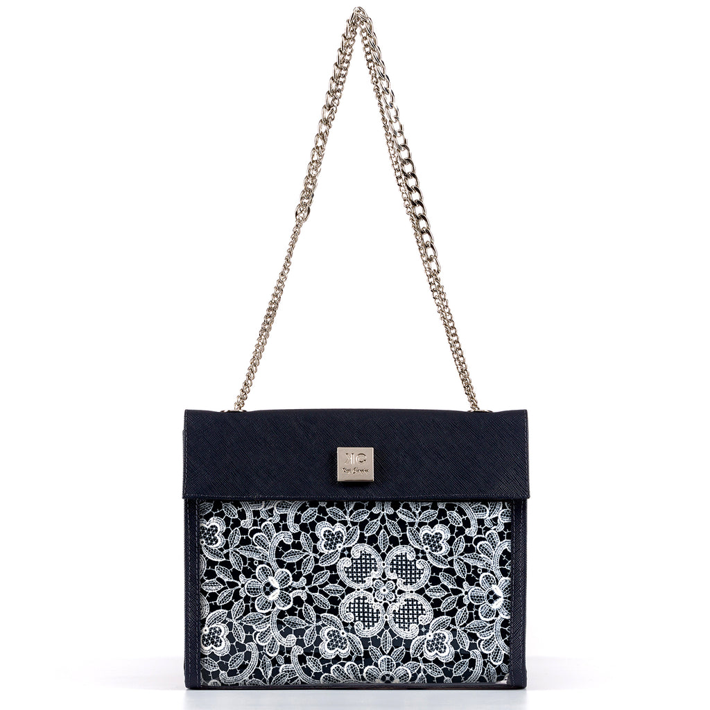 Mykonos - Shoulder Bag - Dark Blue